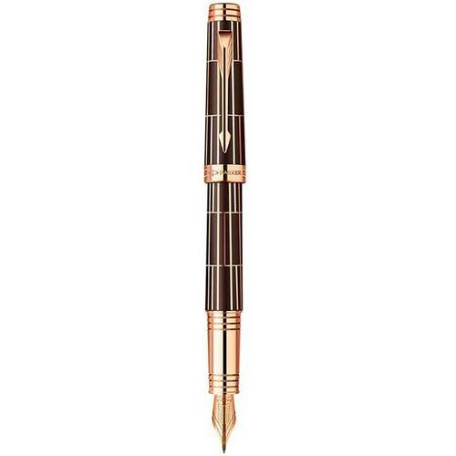 Перьевая ручка Parker Premier Luxury Brown PGT 89 912K