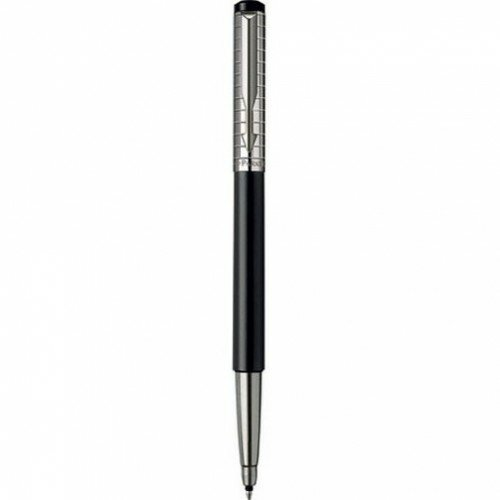 Роллер Parker Vector Satin Black Stainless Steel Chiselled 04 022B