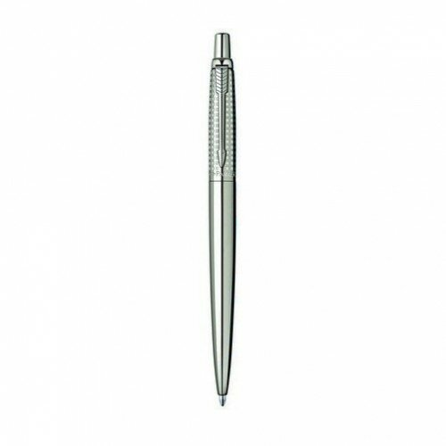 Шариковая ручка Parker Jotter Shiny Stainless Steel Chiselled 15 332S