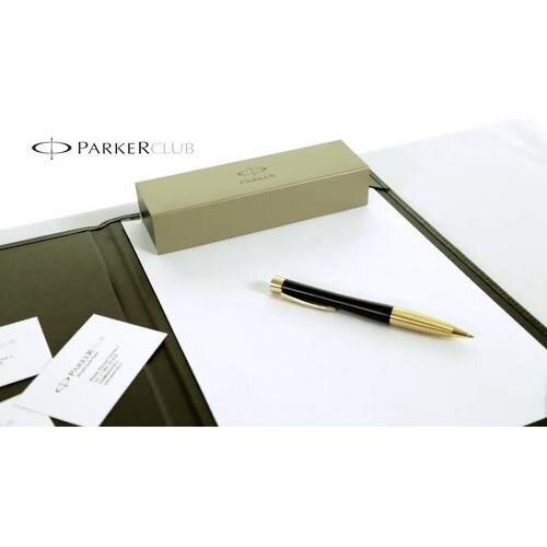 Шариковая ручка Parker URBAN Muted Black GT с Трезубецем 20 232Ч_TR2